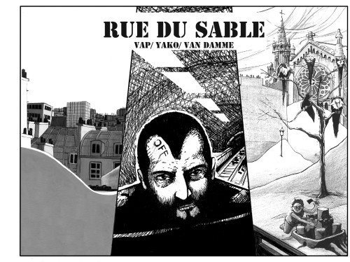 « Rue du Sable », une BD collaborative.