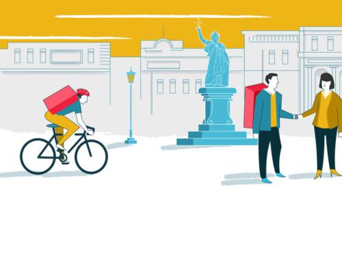 CoopCycle : Livraison à vélo sociale et écologique!