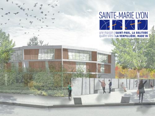 Sainte-Marie Lyon, ce grand établissement réputé, ouvre un lycée à Meyzieu (69)