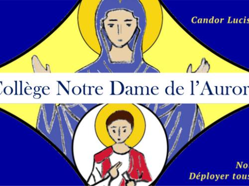 Venons en aide au collège Notre Dame de l'Aurore !