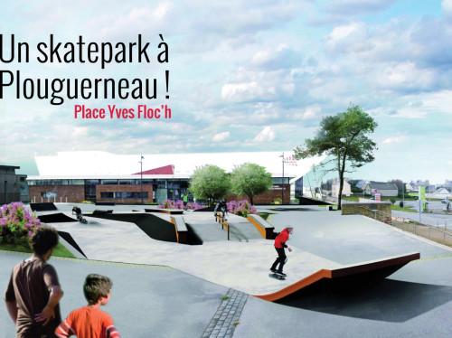 Création d'un skatepark à Plouguerneau !