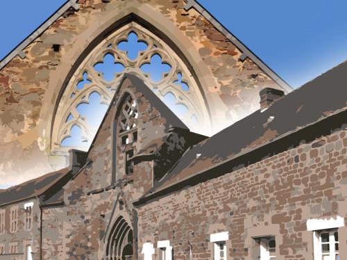 Opération de sauvetage à l'abbaye Saint-Jacques en Bretagne !