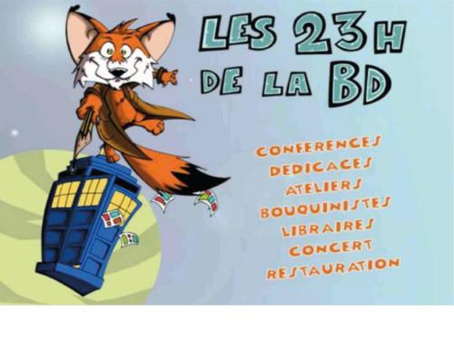 Les 23h de la BD : la BD collaborative !