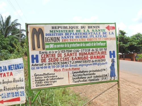 Un nouveau Centre Humanitaire pour l'ONG MIgnon à Sédo (Bénin)