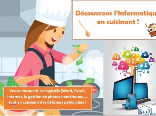 Intégration : Découvrons l'informatique en cuisinant