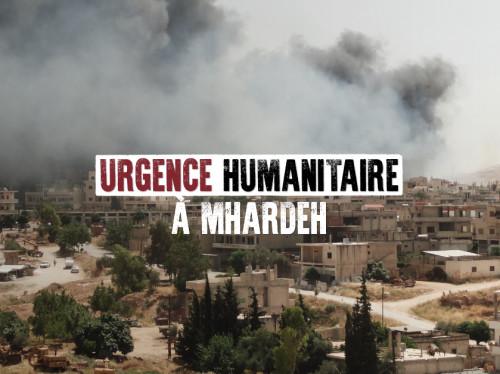 Urgence Mhardeh, ville chrétienne sur la ligne de front en Syrie