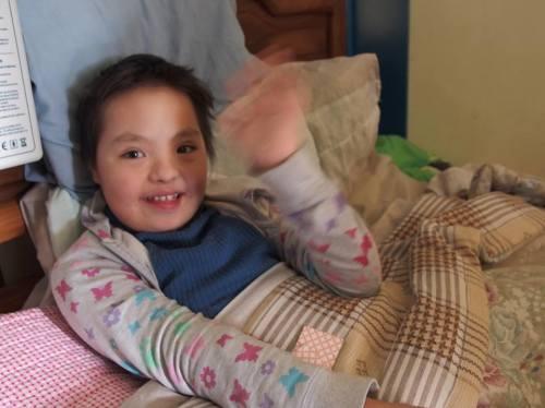 Une opération chirurgicale pour les petits pas d'Ana Belen en Bolivie.