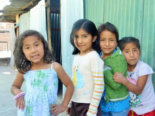 Des soins pour les enfants péruviens