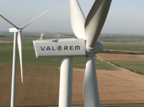 Valorem, Installation d'un parc éolien à Saint-Secondin