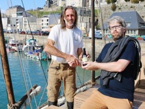 Importation par voilier de bière irlandaise