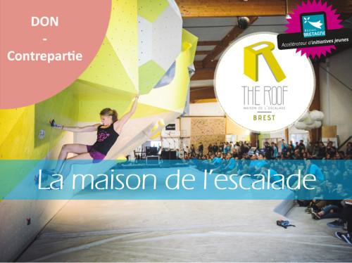 The Roof - Maison de l'escalade Brest