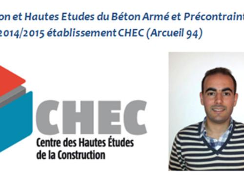 [Nader] Master 2 Centre des Hautes Etudes de la Construction (CHEC)
