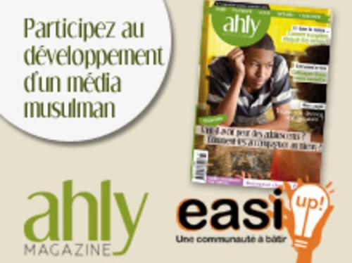 Ahly Magazine SEUL média muslim en Kiosque
