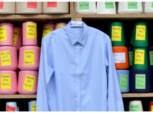 Une Chemise Alsacienne, Facile à Repasser, Sur-Mesure