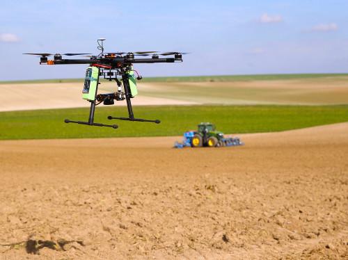 Analyses par drone pour l'agriculture de précision