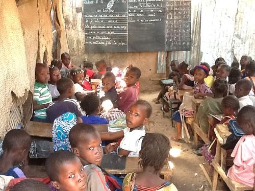 Pour la construction d'une école à Bamako.