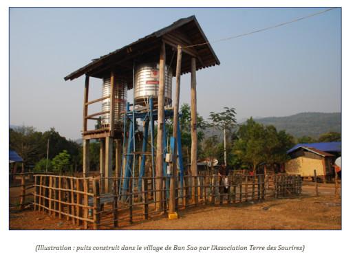 Un puits pour le village de Ban Pakchan