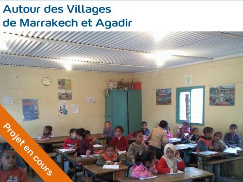Soutien à l'Education à Marrakech et Agadir, au Maroc