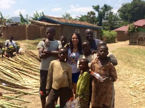 Orphelins du transit center Gisenyi Rwanda