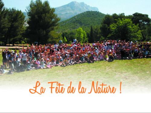 Une grande journée pour l'environnement avec 500 enfants au pied de Sainte-Victoire.