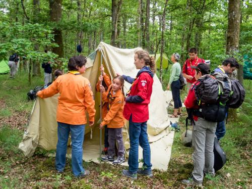Développement du scoutisme dans l'Indre