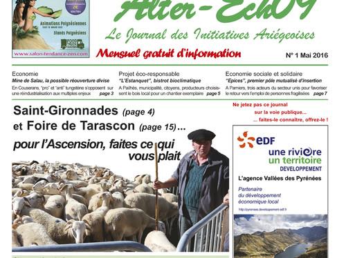 Alter-Ech09: création mensuel ariégeois gratuit