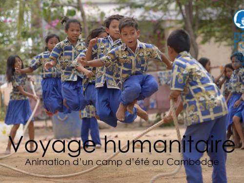 Voyage humanitaire au Cambodge
