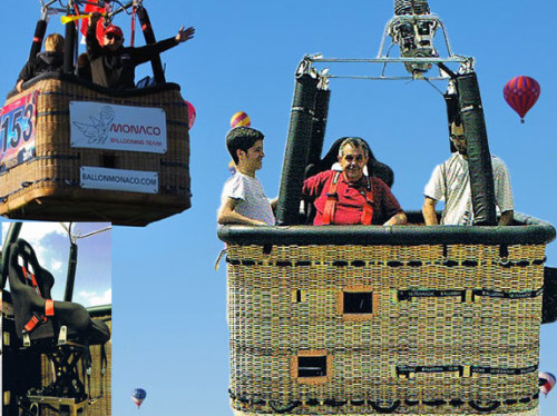 To give the chance to handicapped people to experience all the discovery and magic of a hot-air balloon flight.