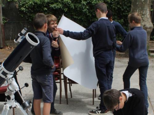 Astronomie au collège Bienheureux Charles de Foucauld à Draguignan