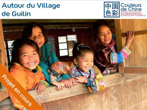 Parrainer des jeunes filles des minorités Miao et Dong