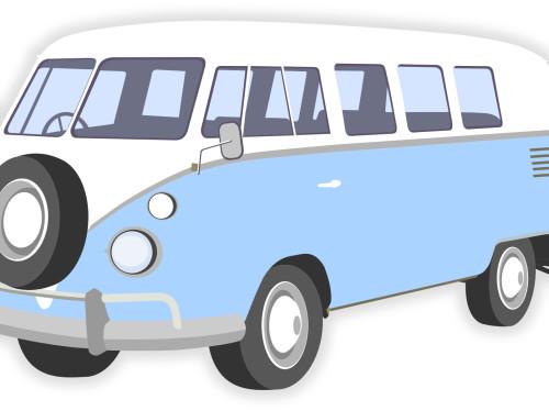 Un minibus pour l'association EspoirGym37 (exemple)