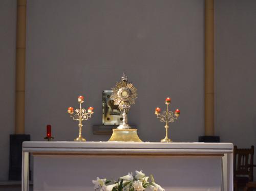 RÉNOVONS LA CHAPELLE DU COEUR DE JÉSUS.  Lieu d'adoration Eucharistique quotidienne