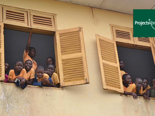 Voyage humanitaire au Ghana