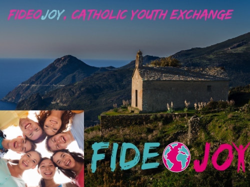FIDEOJOY,  1st linguistic exchanges and stays network between Catholic families