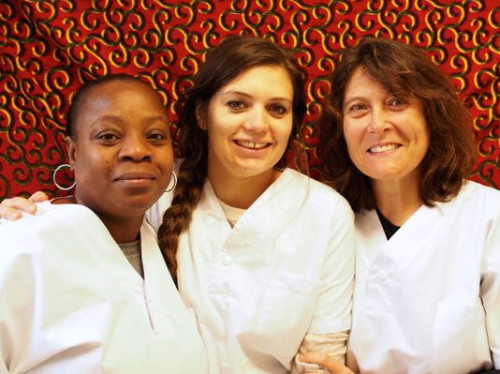 Nurse training in Saint-Louis - Sénégal