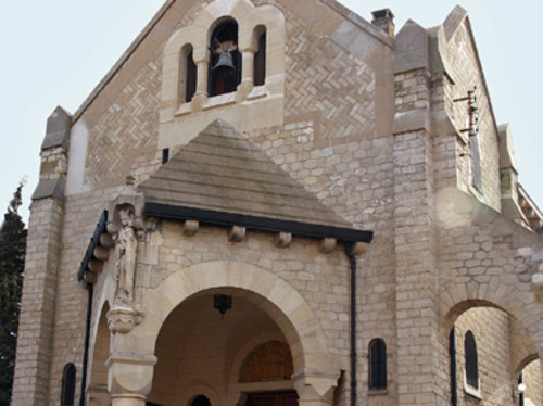 La restauration de l'église Sainte Marie des Fontenelles à Nanterre Dpt 92