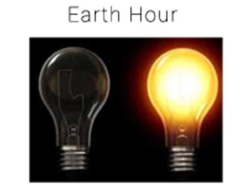 Earth hour 2017 à Monaco