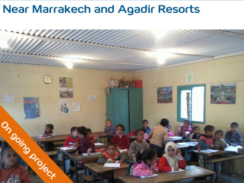 Support for the education in Marrakesh and Agadir, Morocco