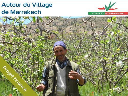 Soutien à de petites exploitations agricoles locales dans la région d'Asni au Maroc