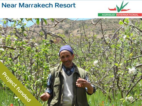 Support for small local farms in the region of Asni in Morocco