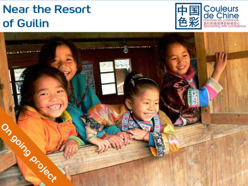 Sponsoring girls from the Miao and Dong minority groups
