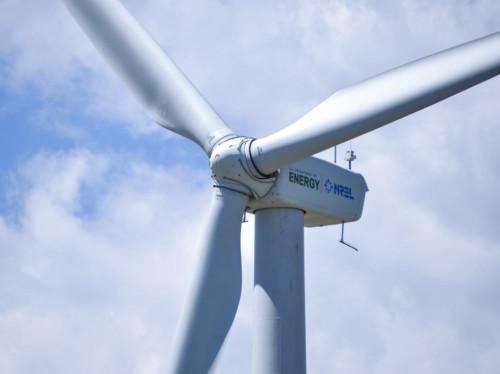 Valorem, Installation d'un parc éolien à Saint-Secondin
