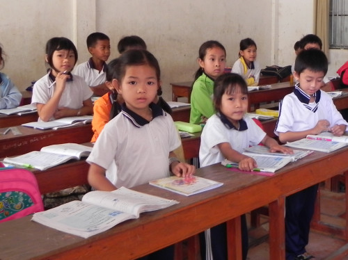 Action Humanitaire Ecole Vietnam