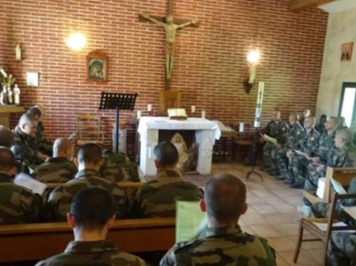 Une chapelle pour le 4ème régiment étranger de Castelnaudary