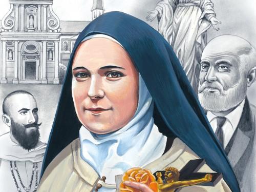 La vie de Ste Thérèse de l'Enfant-Jésus en BD et en breton