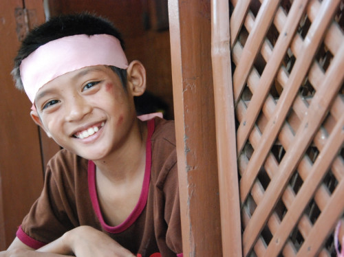 Maison d'accueil pour les enfants des rues de Manille - ANAK-Tnk, avec le Père Matthieu DAUCHEZ