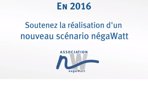 LE SCÉNARIO NÉGAWATT 2016