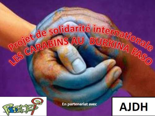 Les carabins au Burkina Faso !
