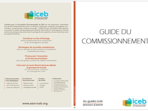 GUIDE DU COMMISSIONNEMENT