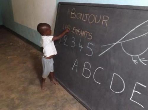 Mission d'enseignement et d'activités parascolaires pour des touts petits âgés de 3 à 6 ans au Burkina Faso